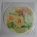 Tortafotó, Ehető fénykép , Ostya , Torta dekoráció Egyedi Kerek 21 cm-es