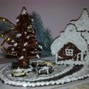 karácsonyi disz grillázsból
