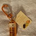 Chiliporos kulcstartó - Narancs skorpió, csoki és citrom habanero