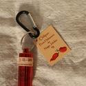 Chiliporos kulcstartó - Piros habanero és Naga jolokia 4g