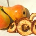 Körteszirom, Kulinária (Ízporta), Szárított, aszalt gyümölcs, Vékony szeletekre vágott ropogósra aszalt édes körte.  , Ízporta