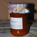 Sárgabaracklekvár levendulával, Lekvár, Sárgabarack hagyományos lekvárnak finom, de talán újítani kellene. A levendulabokor a fa melle..., Ízporta