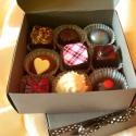 Bonbon ajándékdobozban, Kulinária (Ízporta), Méz, Édességek, A 9 db-os ajándékdoboz tartalma tetszőlegesen összeválogatható az alábbi ízekből: - birsalm..., Ízporta