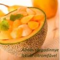 Sárgadinnye és alma lekvár citromfűvel és vaniliával, Kulinária (Ízporta), Lekvár, Napsugár üvegbe zárva. A mézédes sárgadinnye a picit savanykás almával házasítva és megbo..., Ízporta