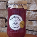 Cseresznye lekvár - vörösborral 370 ml, Kulinária (Ízporta), Lekvár, Édes, ropogós cseresznyéből készült lekvár, amit pinot noir bor hozzáadásával bolondított..., Ízporta