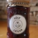 Sült szilva - 370 ml, Balaton parti kertünkben termett  gyümölcsből,...