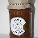 Alma lekvár fahéjjal vagy karamellel, Kézműves, kistermelői lekvár.   ?Az almának ...