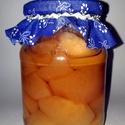 Máté álma almakompót, Gyümölcs, zöldség, Almakompót készült egész ánizzsal és fahéj rudakkal, szegfűszeggel ízesítve. Igazi karács..., Ízporta