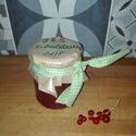 Piros rusztikus ribizli dzsem, Lekvár, Kizárólag saját kertünkben termett, vegyszermentes gyümölcsökből készült szörpök, lekvá..., Ízporta