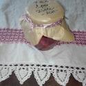 Szamóca (eper) dzsem-zselé