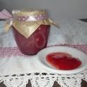 Szamóca (eper) dzsem-lekvár