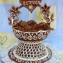 grillázs torta, Édességek, Lekvár, Vidéki, hagyományos édesség a grillázstorta, melyet esküvőre, születésnapra, évfordulókra..., Ízporta