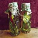 Medvehagymás-snidlinges fűszerolaj, Medvehagyma népszerűségét friss, zamatos íze ...