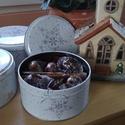 Karácsonyi dobozok...édes ajándék, Kulinária (Ízporta), Szárított, aszalt gyümölcs, Édességek, Az egyre nagyobb mértékben felgyülemlő tárgyak helyett váltsunk gasztroajándékra, melynek eg..., Ízporta