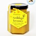 szolidágó krémméz, Méz, Kulinária, finoman kristályos, a szolidágó virág jellegzetes ízű méze..  a Bánki-patak partján viruló..., Ízporta