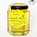 nógrádi akácos gyümölcsfavirág méz, az ízletes akác méz keveredik a lágy, illatos ...