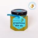 propoliszos akác méz, a propolisz a természet antibiotikuma és azt kev...