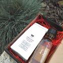 FLOWER BOX - Női ajándékcsomag, Fűszer, Női ajándékcsomagunkba könnyed ajándékok kerülnek:  Egy fantasztikus szirup (kakukkfüves, me..., Ízporta