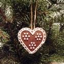 Mézeskalács karácsonyfadísz, Édességek, Méz, Finom illatú ( 4,5- 5 cm-es) mézeskalács figurák, melyeket az írókázáshoz használt cukormá..., Ízporta