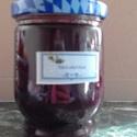 Feketeribizli lekvár, Kevés cukor hozzáadásával bio gyümölcsből k...