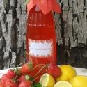 Epres-mentás limonádé alap, Szörp, Valódi eperből és citromból készült szörp a menta jóleső frissességével. Nyári melegben ..., Ízporta