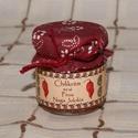 Chilikrém - Piros Naga Jolokia, Extra erős Naga Jolokia chilikrém 40ml-es dísze...