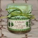 Chilikrém - Zöld Trópusi Chili Mix, Erős chilikrém zöld chilikből. 40ml-es díszes...