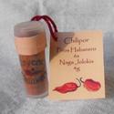 Piros Habanero és Naga Jolokia chilipor műanyag fiolában 4g, Fűszer, Legerősebb chilipaprikáink őrleményeiből készült termék, jól záródó műanyag fiolában. ..., Ízporta