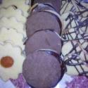 Tea sütemény, Kulinária (Ízporta), Édességek, Lekvár, Vegyes teasütemény. Linzer karika, házi pilóta keksz, csokival csurgatott linzer., Ízporta