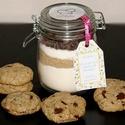 Süteményliszt csokis kekszhez, Sütimix az üvegből csokis keksz készítéséhe...