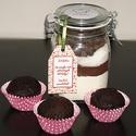 Muffin süteményalap, Sütimix az üvegből csokis, kakaós muffin kész...