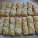 Sajtos rúd , Kulinária (Ízporta), Édességek, Pékáru, Könnyű, puha tésztából készült sós sütemény. Sörkorcsolyának kitűnő!  Kérésre trappi..., Ízporta