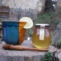 Gyógynövényes Méz - Levendula, Kulinária (Ízporta), Méz, Édességek, A technológia lényege, hogy a gyógynövények nyersen kerülnek bele a mézbe, így az alkotó el..., Ízporta